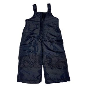 LONDON FOG Navy Blue Snow Pants